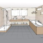 Salle de bains_ dessin initial