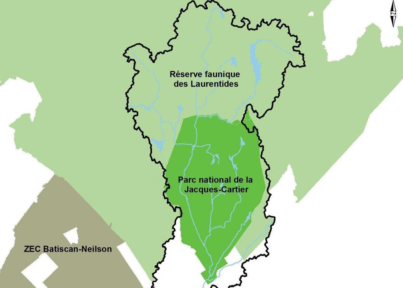Caractérisation d'un corridor écologique potentiel