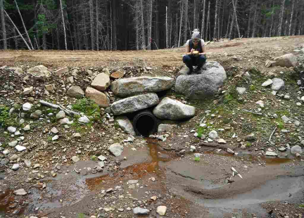 Caractérisation des traverses de cours d'eau